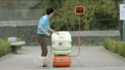 Mexican Electro-Receptacle Dispenses Free Wi-Fi in Exchange for Deposits of Dog Poo