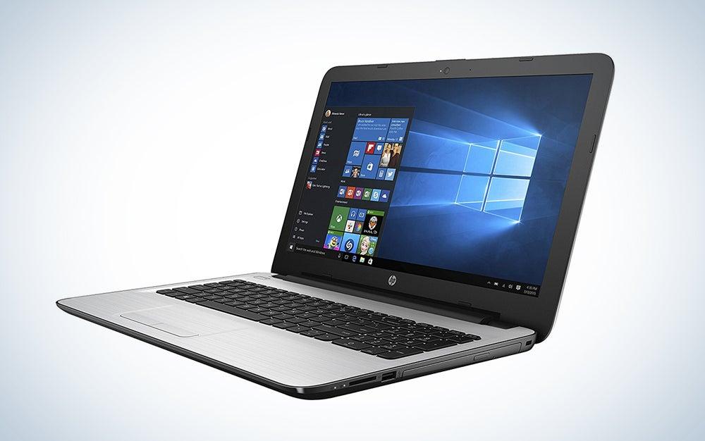 HP touchscreen notebook