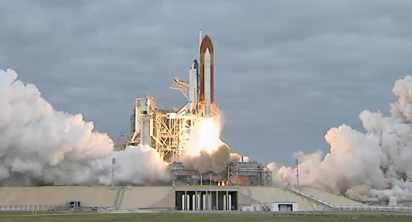 Video: Space Shuttle Endeavour Blasts Toward International Space Station One Last Time