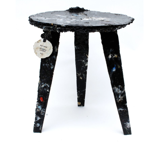 Sea Chair Project Collects Ocean Plastic Garbage to Make Stylish Sitting Stools