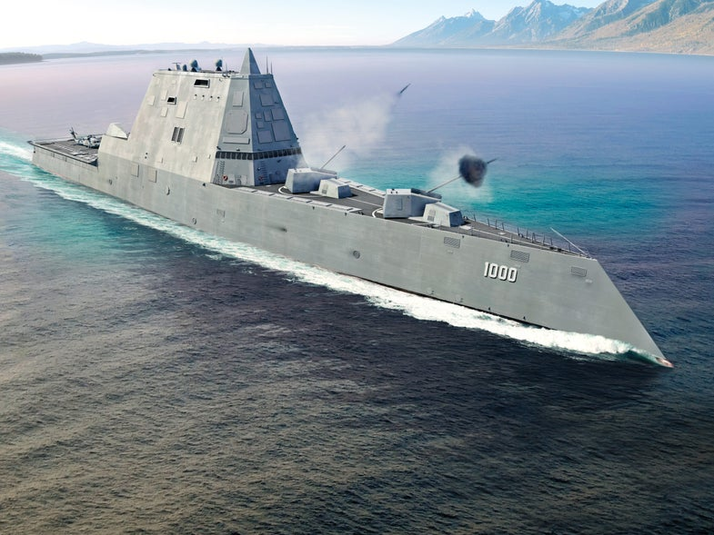 In Future Wars, New Ships Will Determine Control Of Contested Waters