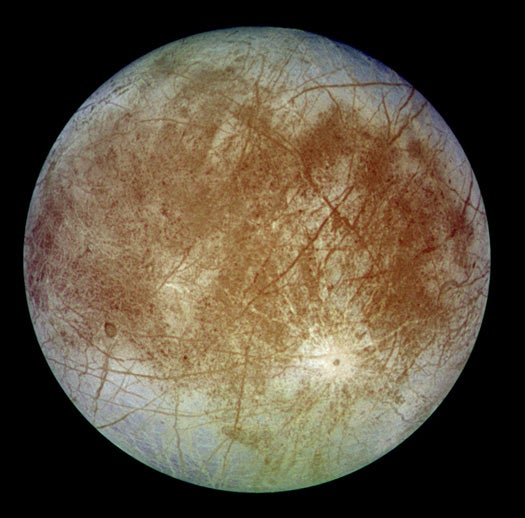 Oceans on Europa Have Enough Oxygen to Support Space Fish