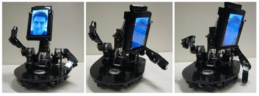 Teleconferencing MeBot Conveys Your Non-Verbal Cues Over the Phone