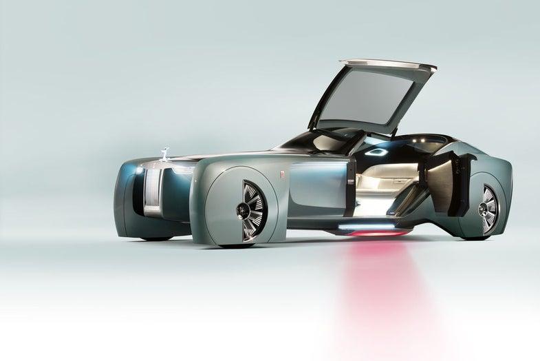 Rolls-Royce futuristic car