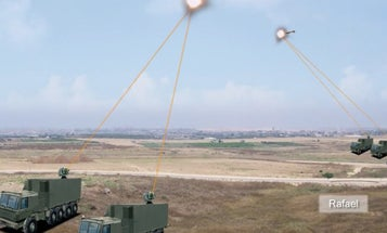 Israeli Contractor Rafael Shows Off Anti-Drone Laser In Korea