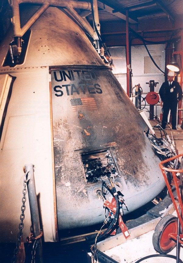 apollo 1 spacecraft