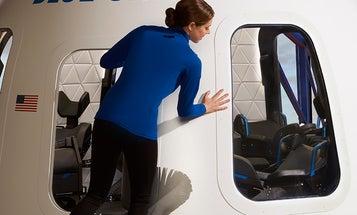 Peek inside Blue Origin's capsule for space tourists