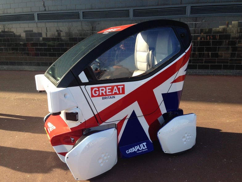 Britain Launches First Driverless Car—And It's Precious