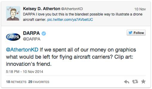 """DARPA's"