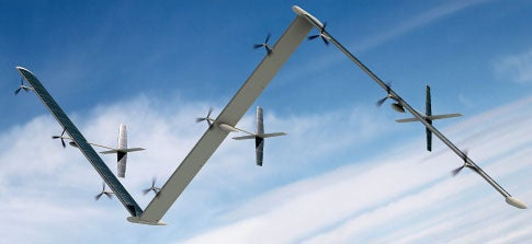 Giant Solar Plane Will Stay Aloft for Five Years Straight