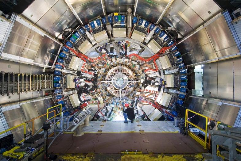 Large Hadron Collider Atlas experiment detector