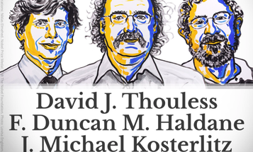 Physics Nobel Awarded For Topological Study Of Weird Matter