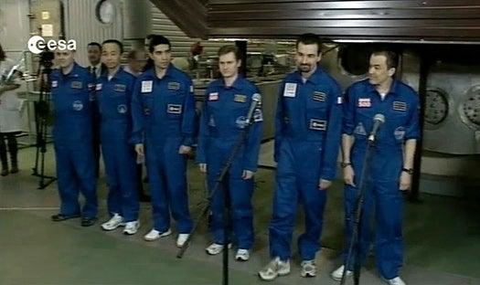 "Triumphant Mars 500 Crew ""Returns to Earth"""