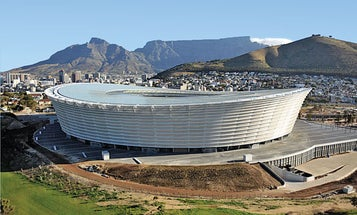 South Africa's Soundproof Stadium For the World Cup