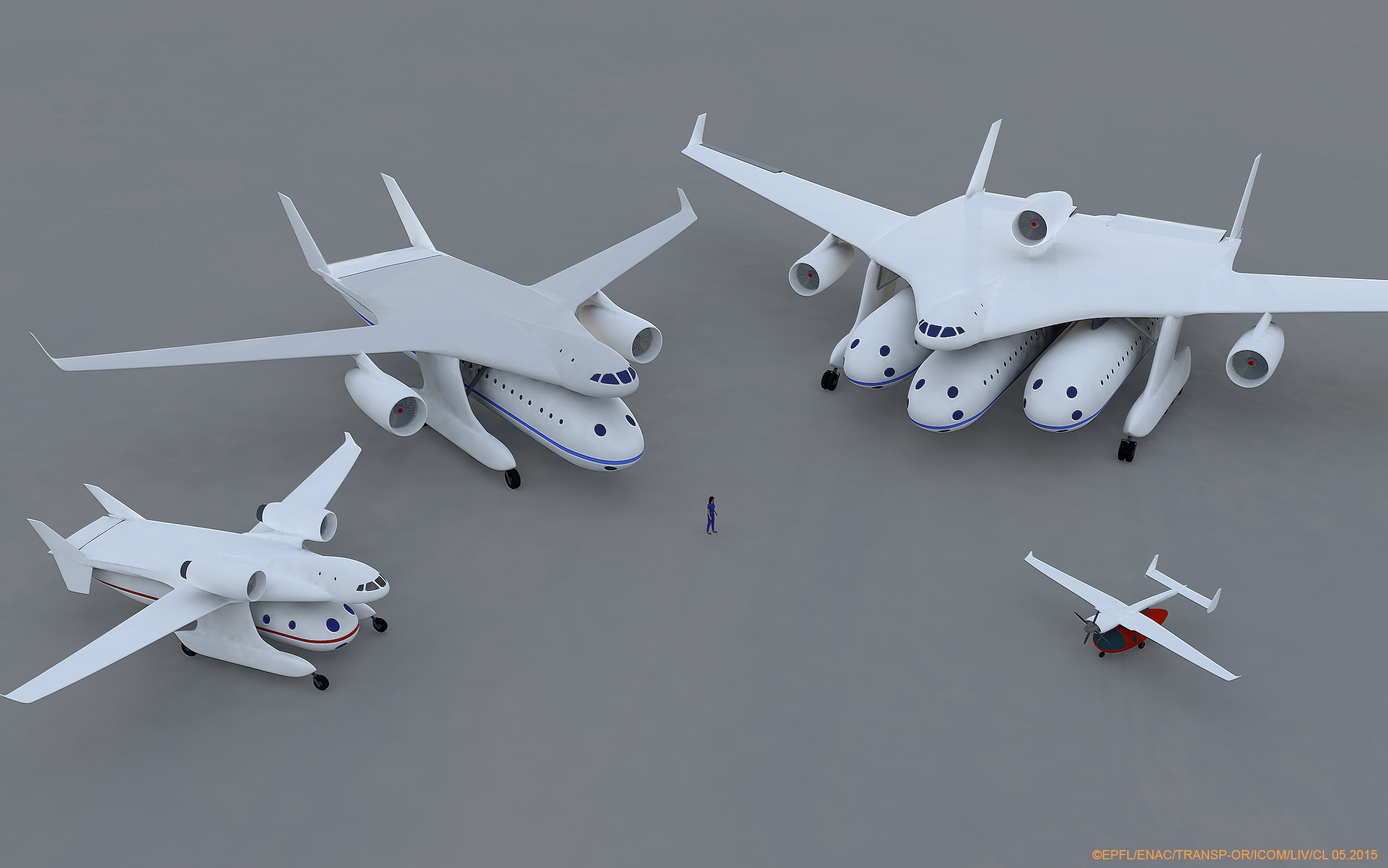 Modular Plane Concept Treats Passenger Cabin Like A Shipping Container