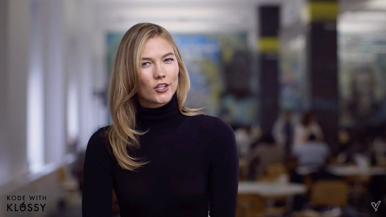 Karlie Kloss Launched A Coding Course For Young Women