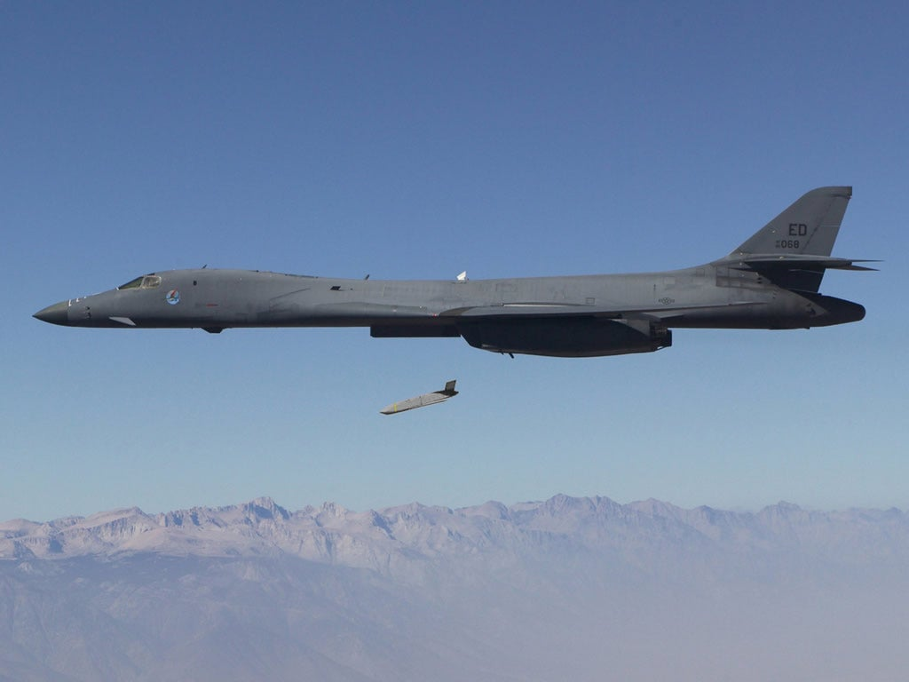 Bomber With Long Range Anti-Ship Missile