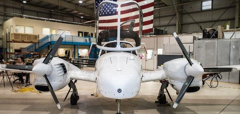NOAA Survey Aircraft