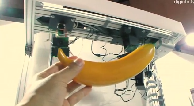 Video: An Augmented-Reality Bananaphone, With a Real Banana (or Anything Else)