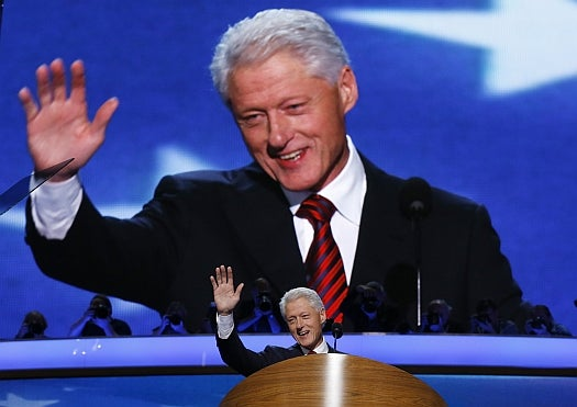 FYI: Why Is Bill Clinton So Good at Speaking to a Crowd?