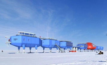 This Weird Antarctic Building Can Ski On Ice