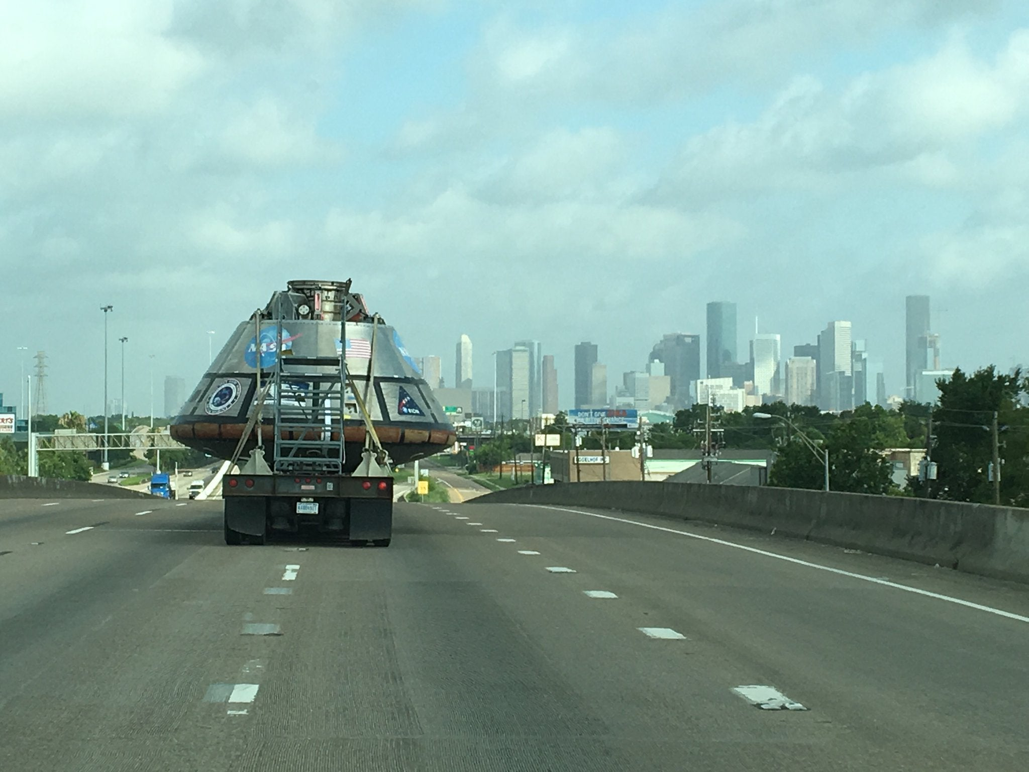 Where In The World Is The Orion Spacecraft?