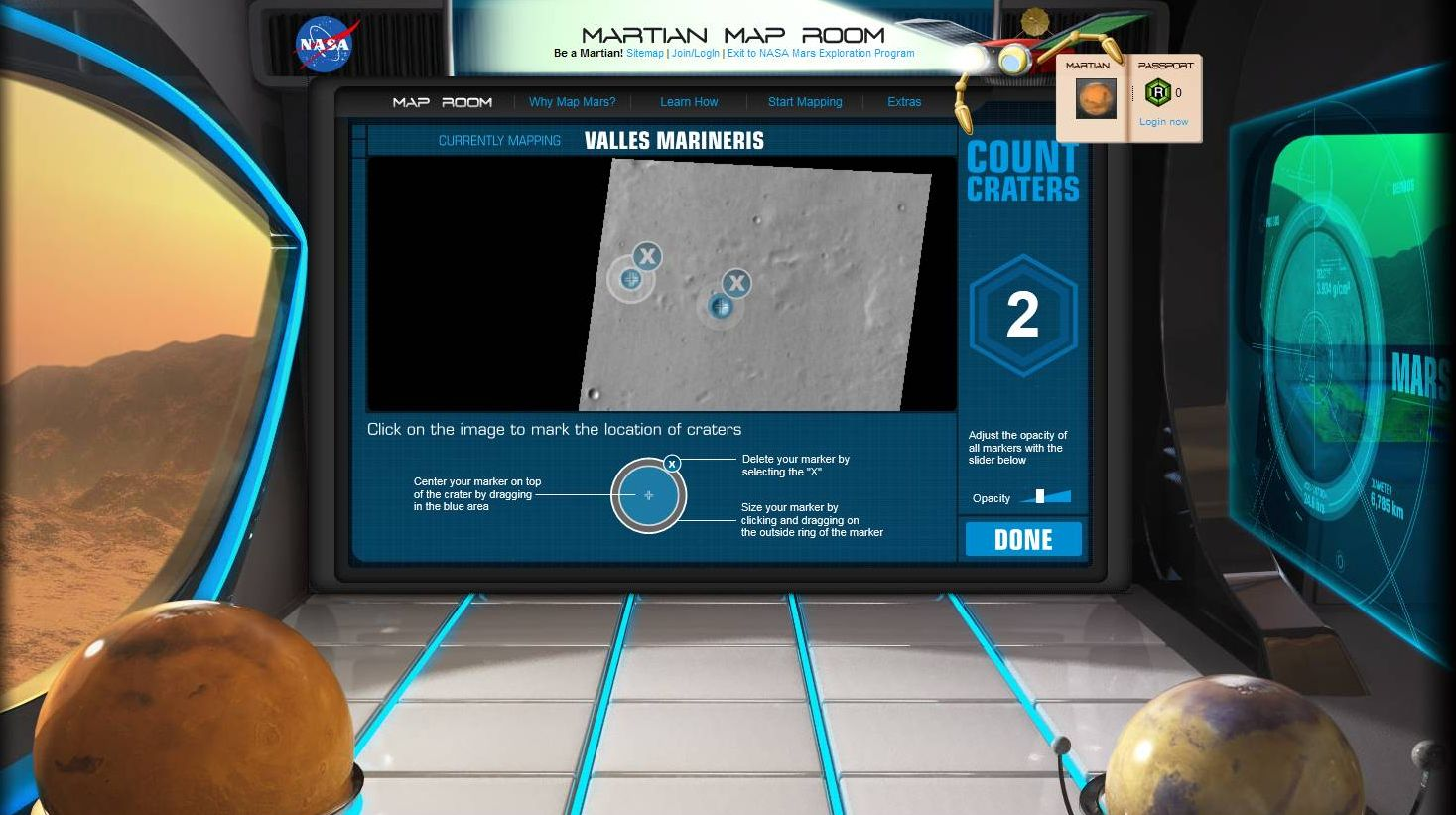 NASA Crowdsources Hi-Res Mars Mapping as an Online Game for Kids