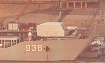 Looks like China just installed a railgun on a warship, beating the U.S. Navy to the punch