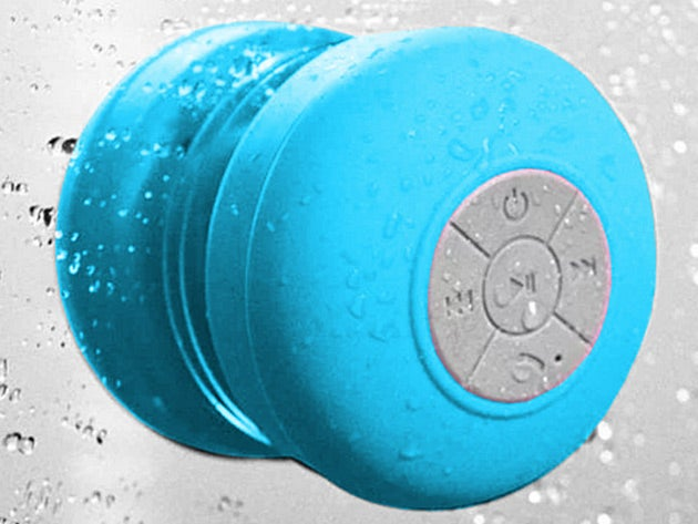 Duet With Your Favorite Singers with this Waterproof Shower Speaker
