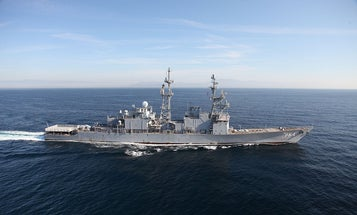 Navy Dronifies Ship For Target Practice