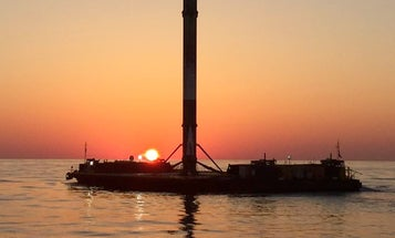 Behold A SpaceX Sunset