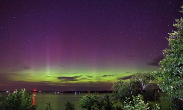 After Solar Flare Sprays Earth With Charged Plasma, a Beautiful Aurora