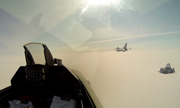 Fighter Pilot Films First Person View Of Flight Over Fjords