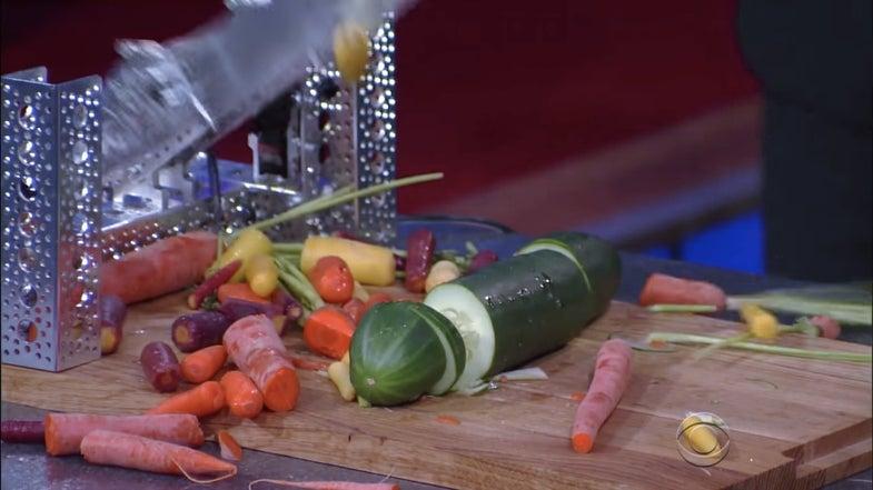 Colbert Meets The 'Queen Of Crappy Robots'