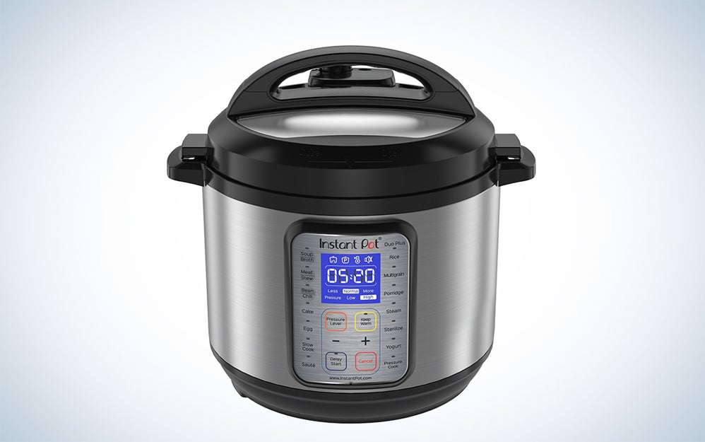 Insta Pot Duo Nine-in-one cooking appliance
