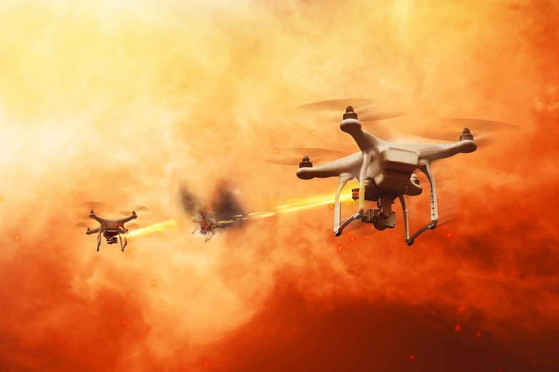 The Forest Service really doesn't want you flying your drones into wildfire