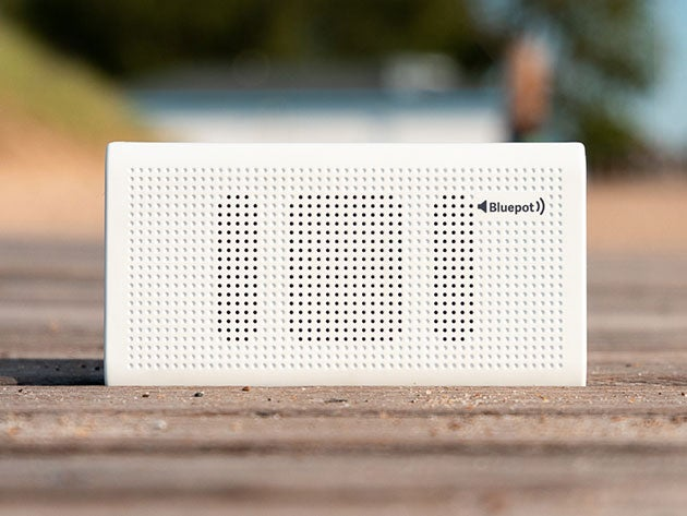 Bluepot Bluetooth Speaker and Power Bank