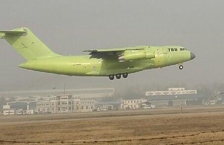 China Y-20 788