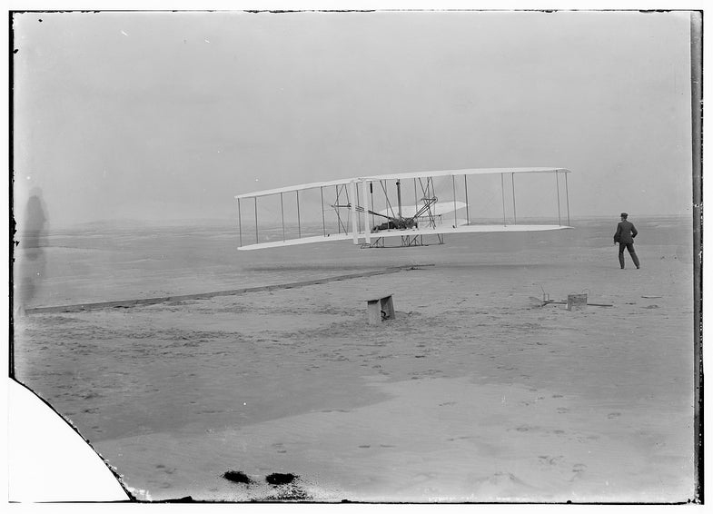 The Wright Brothers' First Flight, As Covered By 'Popular Science'