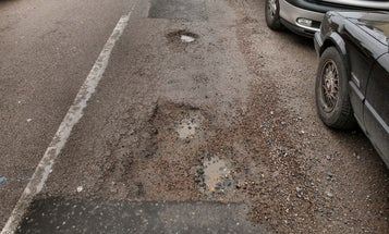 Students Invent a Pothole Repair Patch Made from a Non-Newtonian Fluid