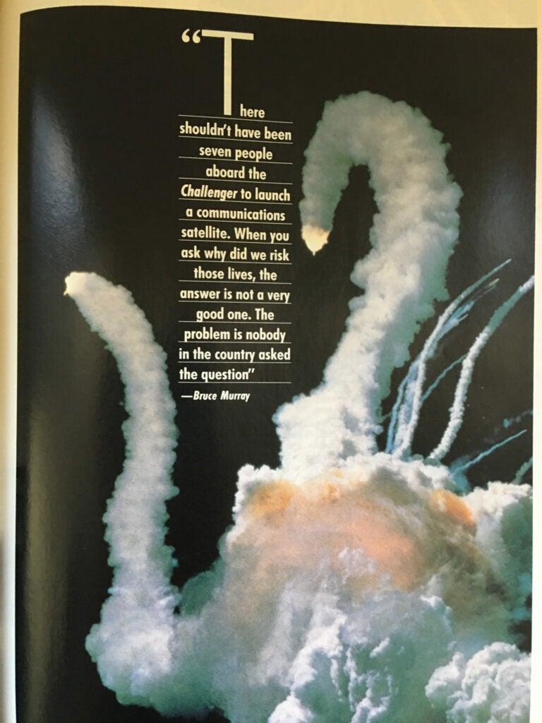 """Challenger"