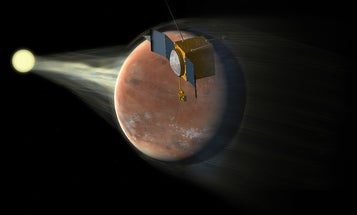 NASA's MAVEN Mission Is Saved From The Government Shutdown