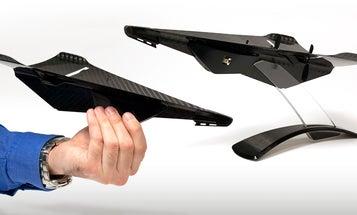 Carbon Fiber Drone Looks Like A Tough Paper Airplane