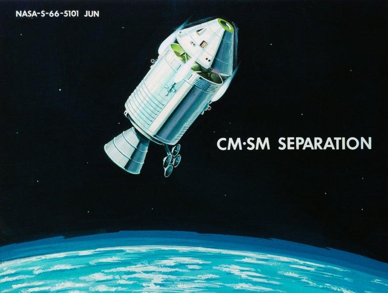 Command-Service Module Separation