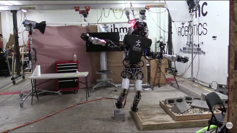 Boston Dynamics' Robot Balances On One Foot