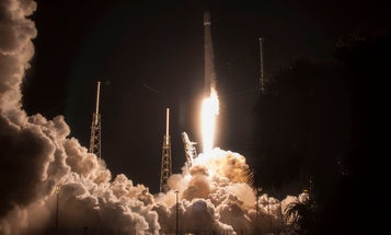See Pictures And Video Of SpaceX's Nighttime Launch And Landing