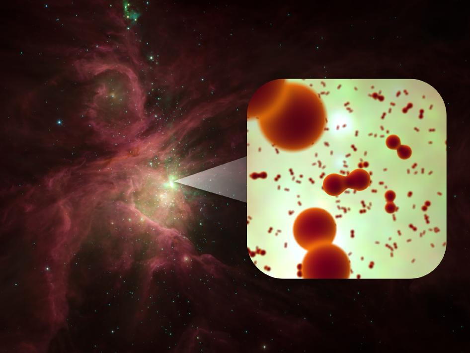 Herschel Telescope Finds Oxygen Molecules in Space