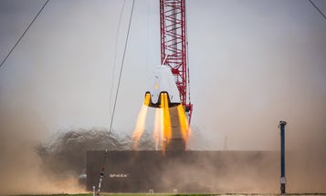Watch SpaceX Test-Fire Its Spaceship For Astronauts, The 'Dragon 2'