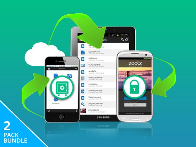 Zoolz dual cloud will give you 1TB of online storage for life