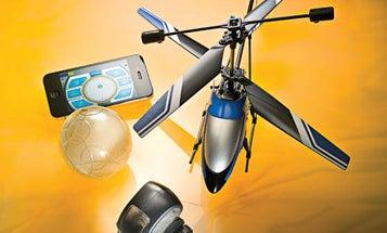 Radio-Controlled Toys Trade Joysticks for Smartphones